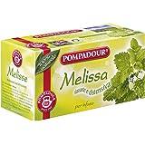 Pompadour - Melissa Per Infuso, Rilassante E Distensiva, 20 Bustine - 36 G