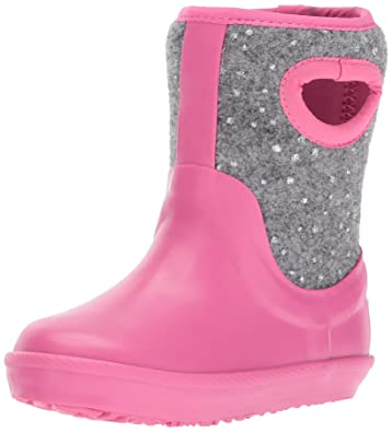 UGG Girls T Kex Sparkle Rain Boot, Pink Azalea, 6 M US Toddler