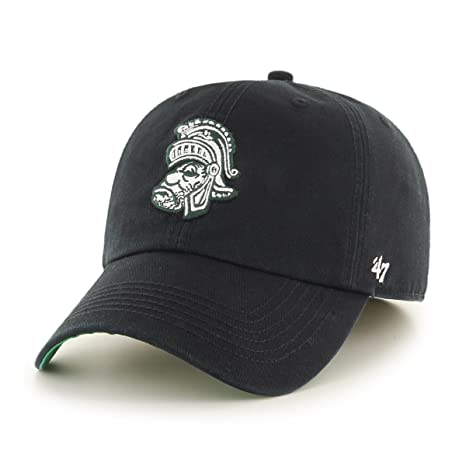 wholesale dealer de533 e65e2 ... best 47 ncaa michigan state spartans franchise fitted hat black 2 x  large 3daa4 8627e