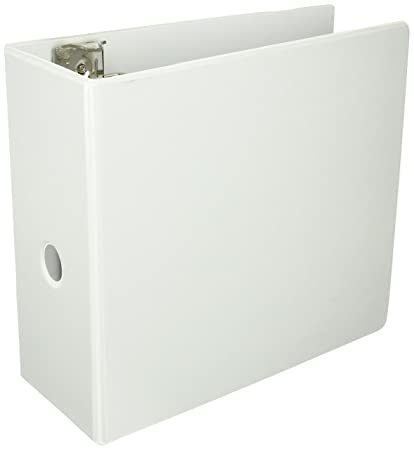amazon com sparco slant ring view binder with spine hole 5 inch