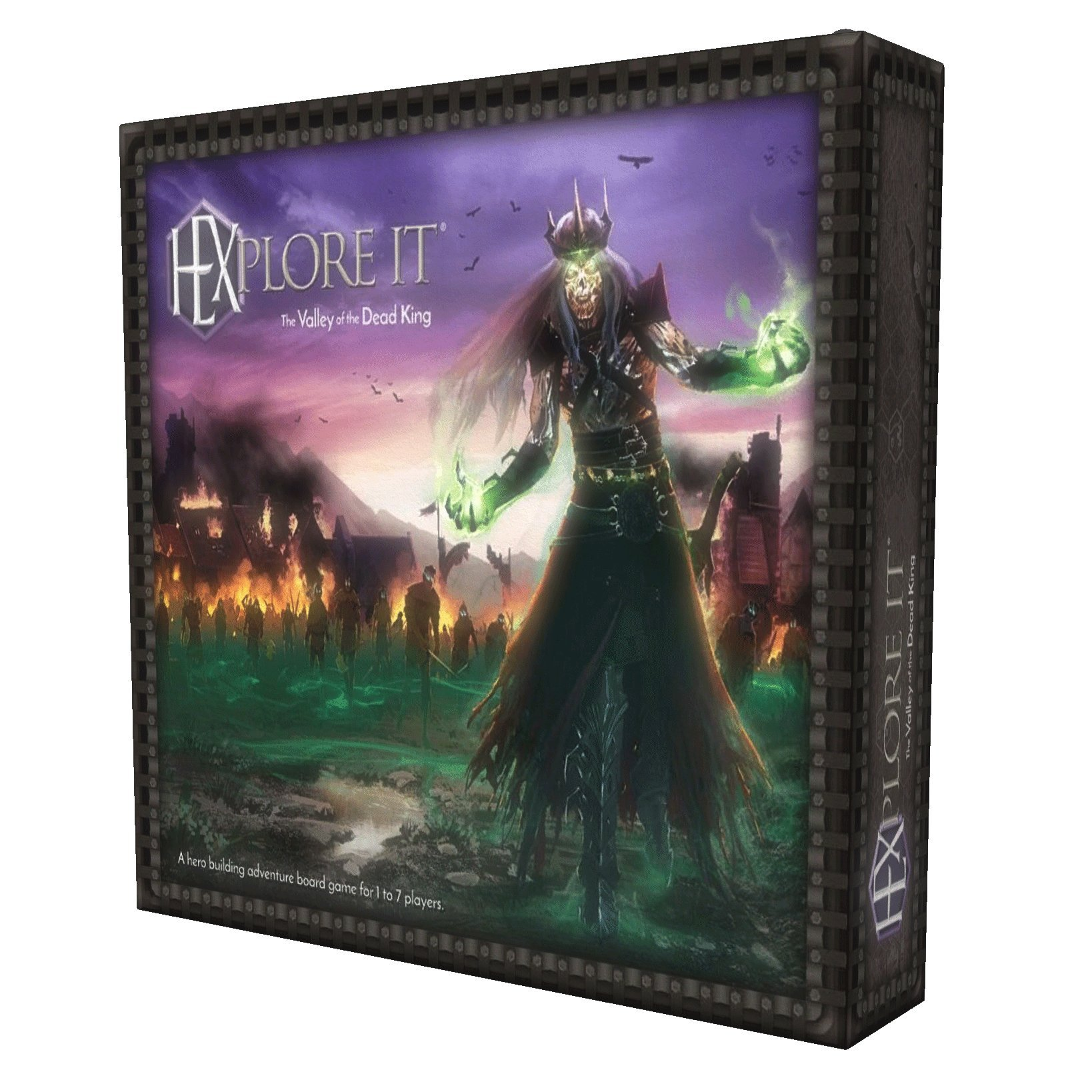 HEXplore It: The Valley of the Dead King Board Game