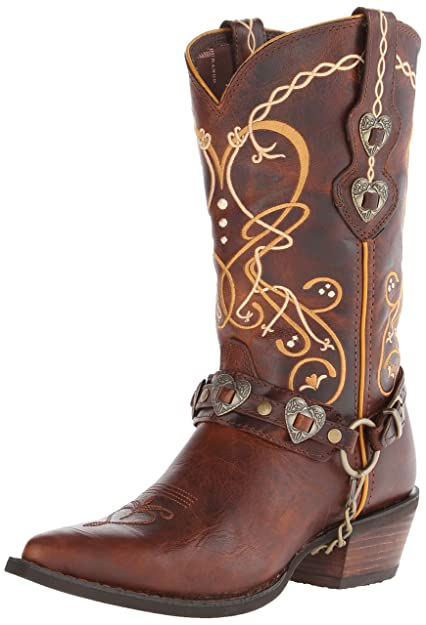 Womens DCRD180 Western Boot, Brown, One Size Durango