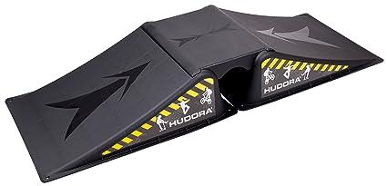 Hudora Skateboard – Rampa, Negro