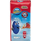 Huggies Little Swimmers Disposable Swim pants, Large, 10 Count Disney Character may be different