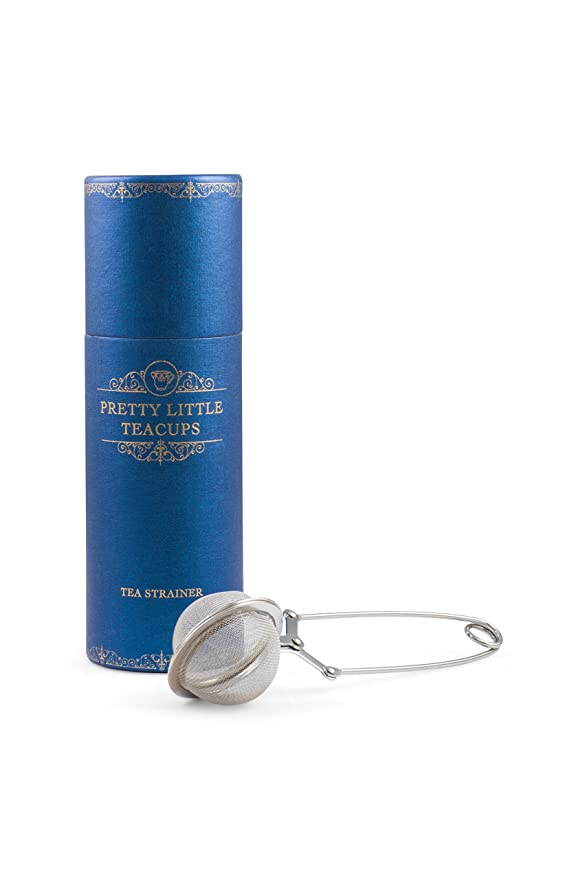 Amazon.com: Pretty Little colador de té diseño de tazas ...