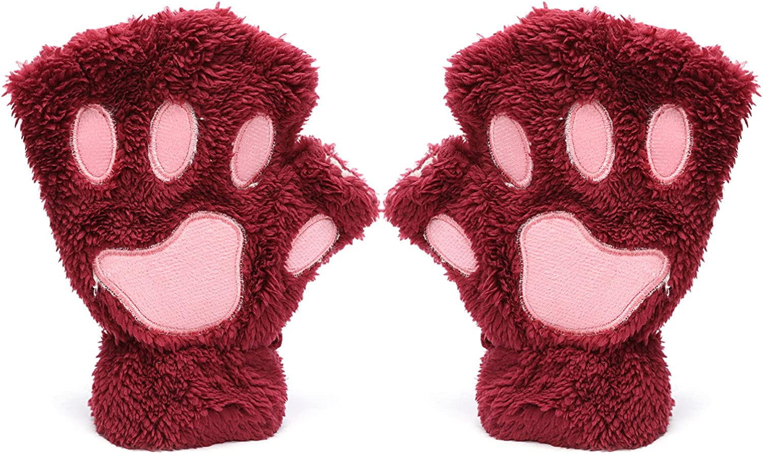 Odema Bear Plush Cat Paw...