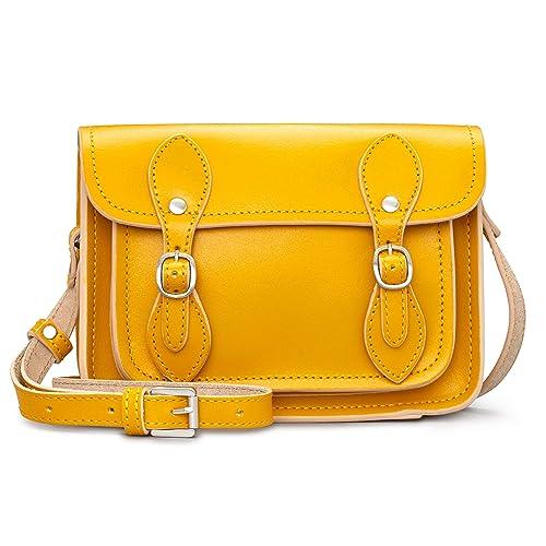 Yoshi - Bolso Estilo Cartera para Mujer Amarillo Mostaza
