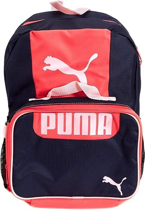 0cf96823ca PUMA Girls Color Block Backpack & Lunch Bag Set: Amazon.co.uk: Clothing