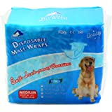 SENYE PETS Disposable Male Wraps Dog Diapers,12Pcs
