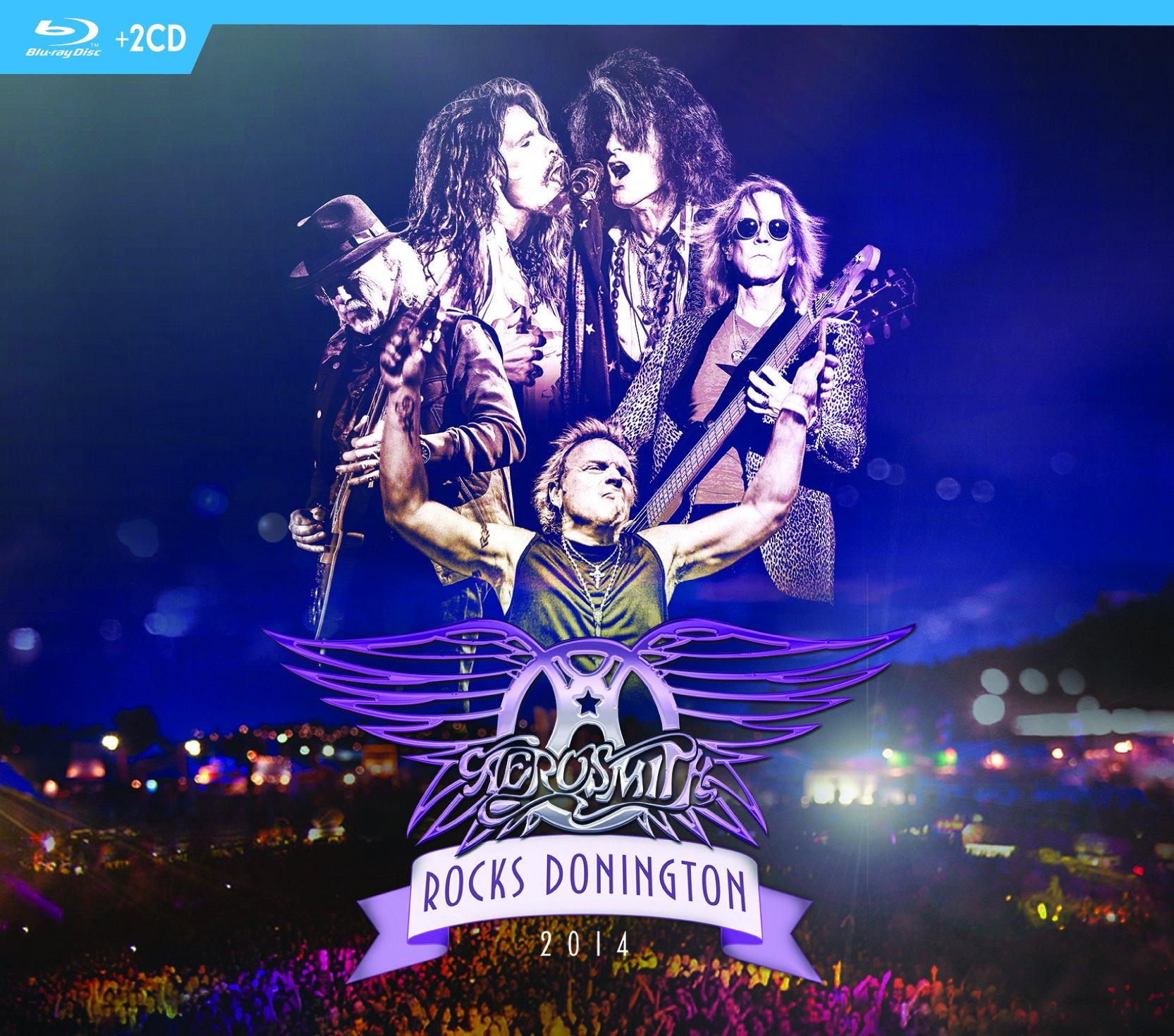 Blu-ray : Aerosmith - Rocks Donington 2014 (With CD, 3 Disc)