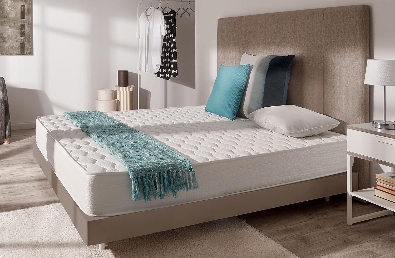 Naturalex Colchón Comodity | 160 x 200 cm | 7 Zonas de Confort | Reversible 20cm de Profunidad: Amazon.es: Hogar