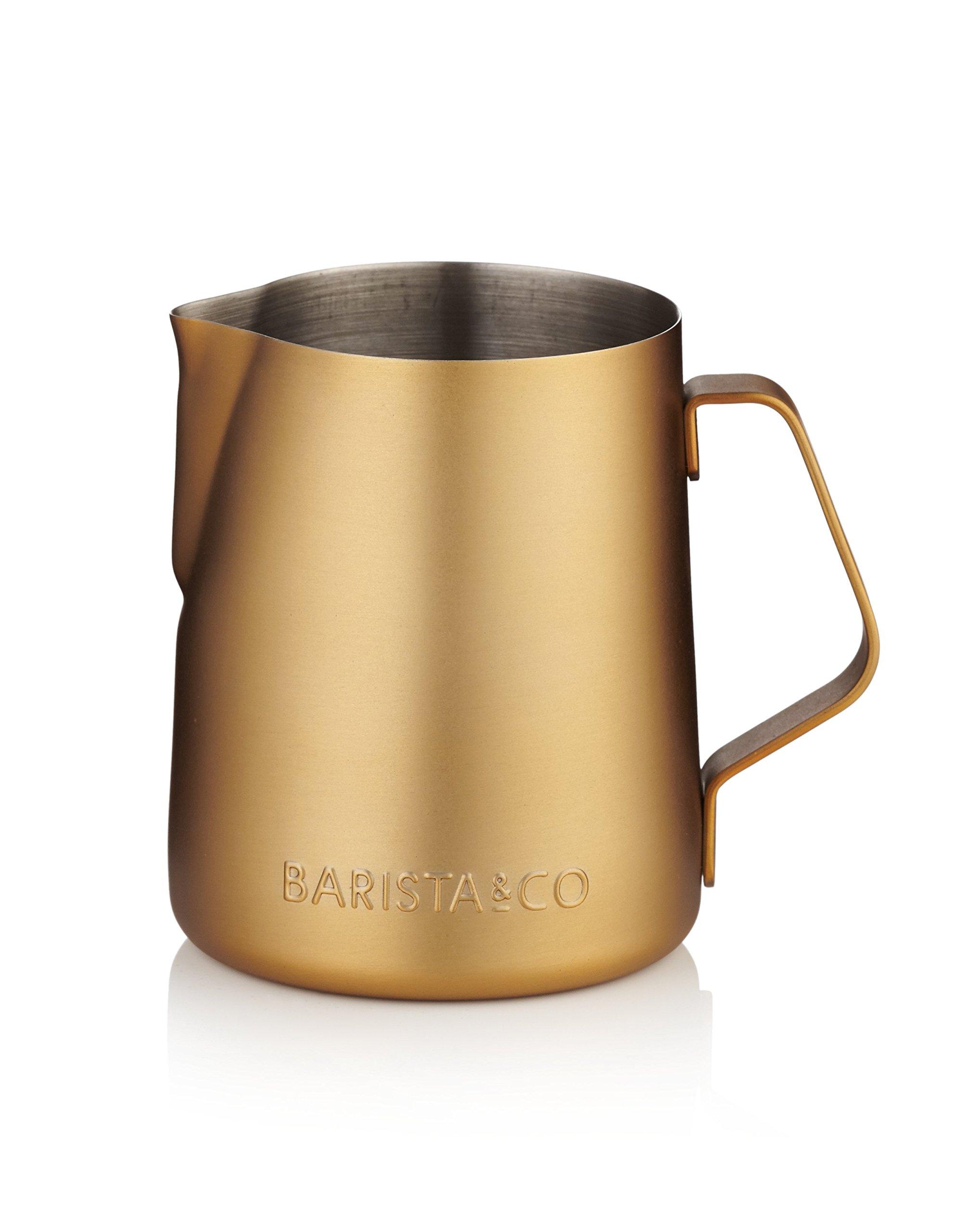 Barista & Co Milk Jug, Midnight Gold by Barista (Image #2)