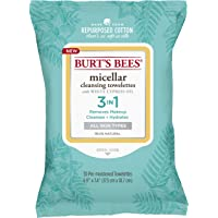 Burt's Bees Micellar Cleansing Towelettes, 30 Wipes