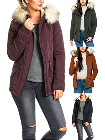 Only Onllucca Short Parka Otw Chaqueta para Mujer