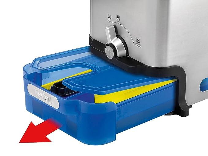 Amazon.de: Tefal FR8040 Oleoclean Fritteuse Pro Inox Und Design Mit  Filtersystem, 2300 W