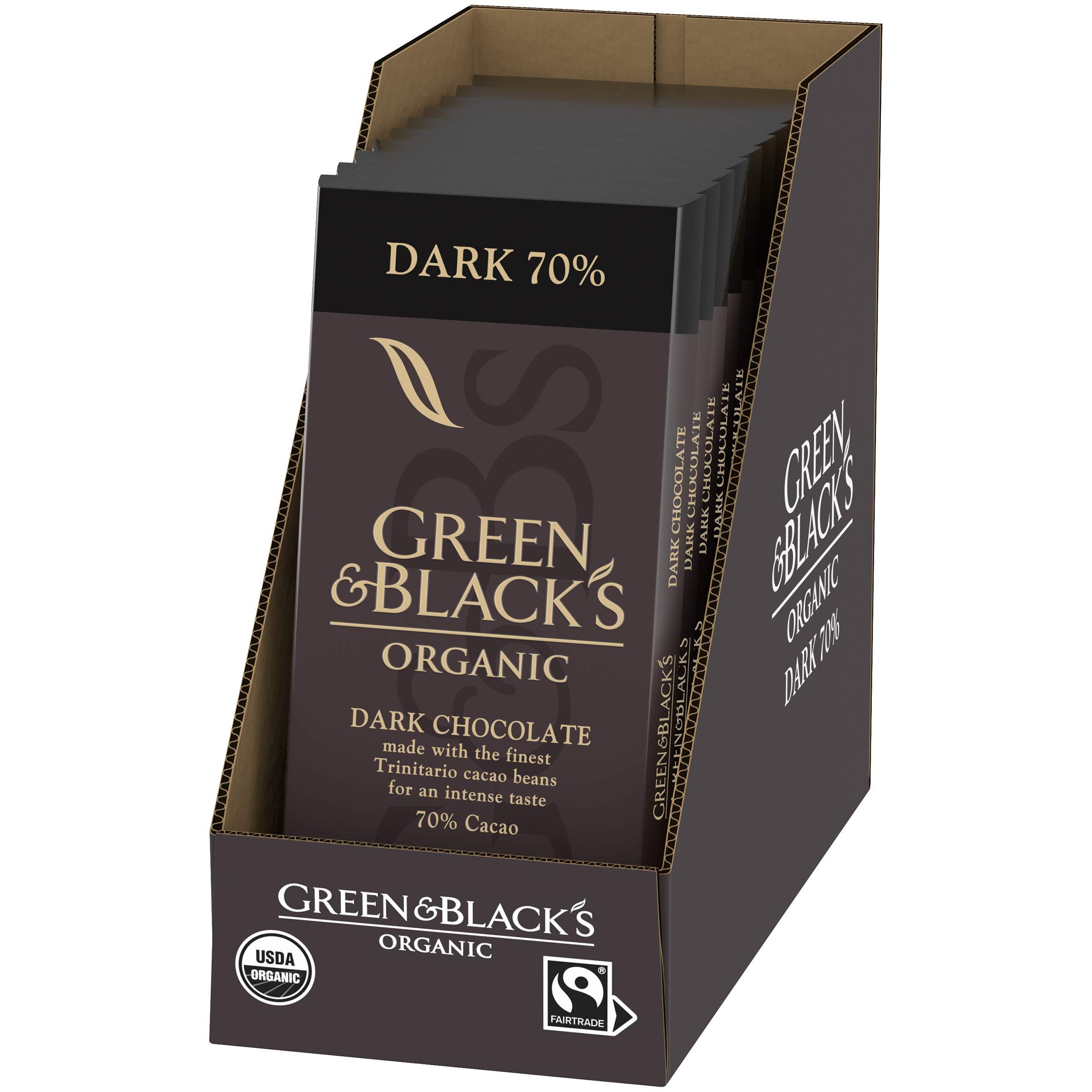 Green & Black's Organic Dark Chocolate 70% Cacao by Green & Black's