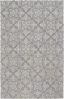 """product image for Capel Edna Blue 3' 6"""" x 5' 6"""" Rectangle Hand Tufted Rug"""