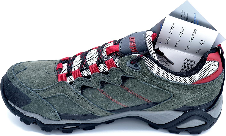 Praylas Arenal - Zapatilla Deportiva de treking para Hombre con Membrana Impermeable (41): Amazon.es: Zapatos y complementos