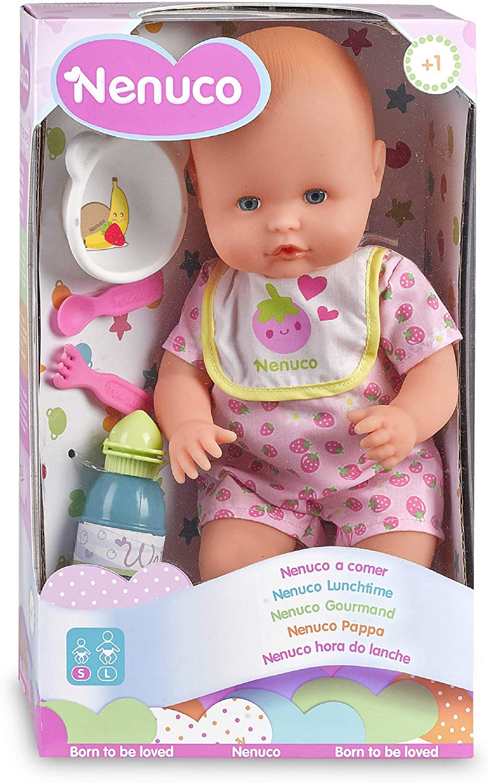 Nenuco 700010315 - Hora de comer, color rosa