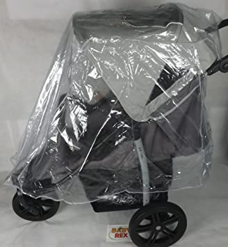 Nuevo protector de lluvia Rain Cover para 3 Wheeler carrito de bebé ...