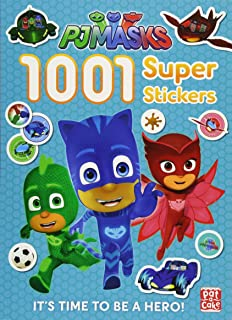 1001 Super Stickers (PJ Masks)