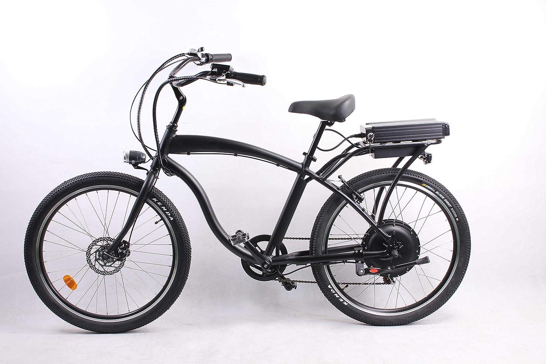 móvil 500W 48V 10.4AH Bicicleta eléctrica 26x2.125 Bicicleta ...
