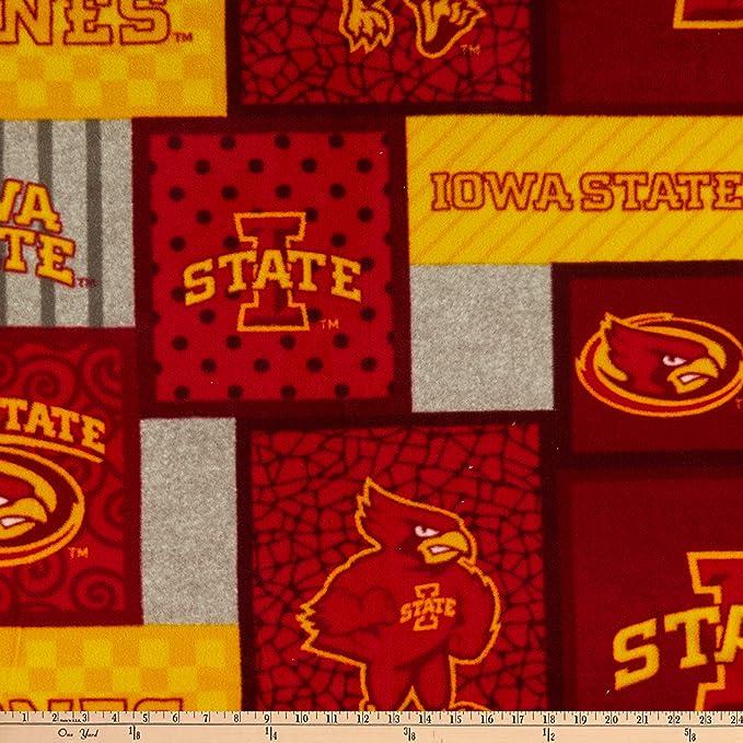 Red Yard Sykel Enterprises NCAA Texas A/&M Aggies College Patch Fleece