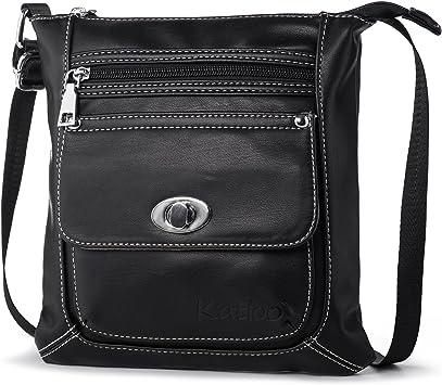 Für Shopper Frauen Citytasche Kleine Damen Ledertasche Leichtgewicht Reisen Bag Umhängetasche Schultertasche Katloo Handtaschen Messenger Schule f7b6gYy
