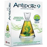 Antidote 9 - Correcteur Et Dictionnaires Pour Le Francais Ou L'Anglais Druide: Posologie Guide d'Utilisation D'Antidote 9