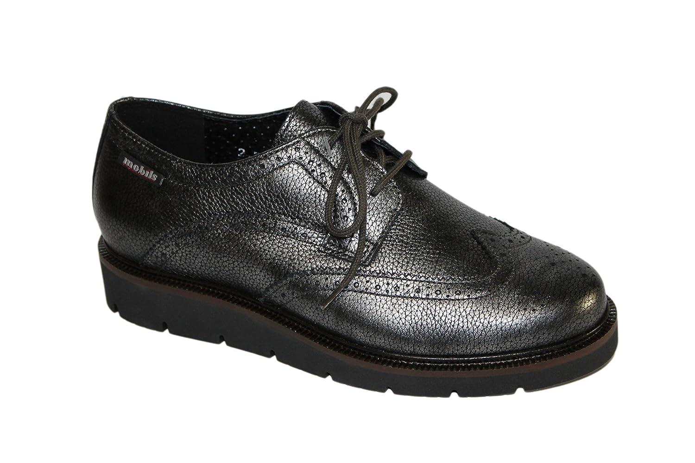 Mephisto - Zapatos de Cordones Mujer 36.5 EU|gris