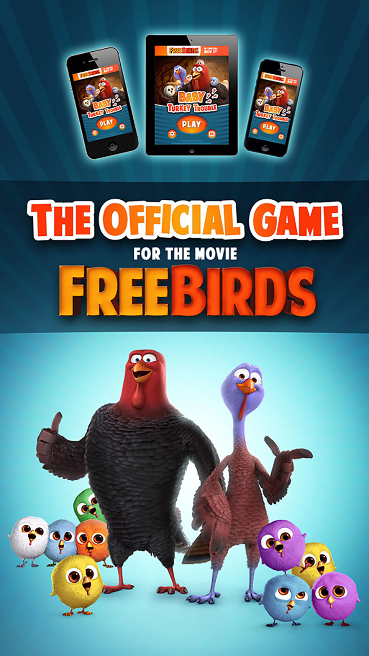 Amazon.com: FREE BIRDS MOVIE: BABY TURKEY TROUBLE: Appstore for Android