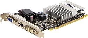 MSI Radeon HD5450 Pcie 1GB DDR3 HDmi Dvi VGA 650MHZ 64BIT Heatsink