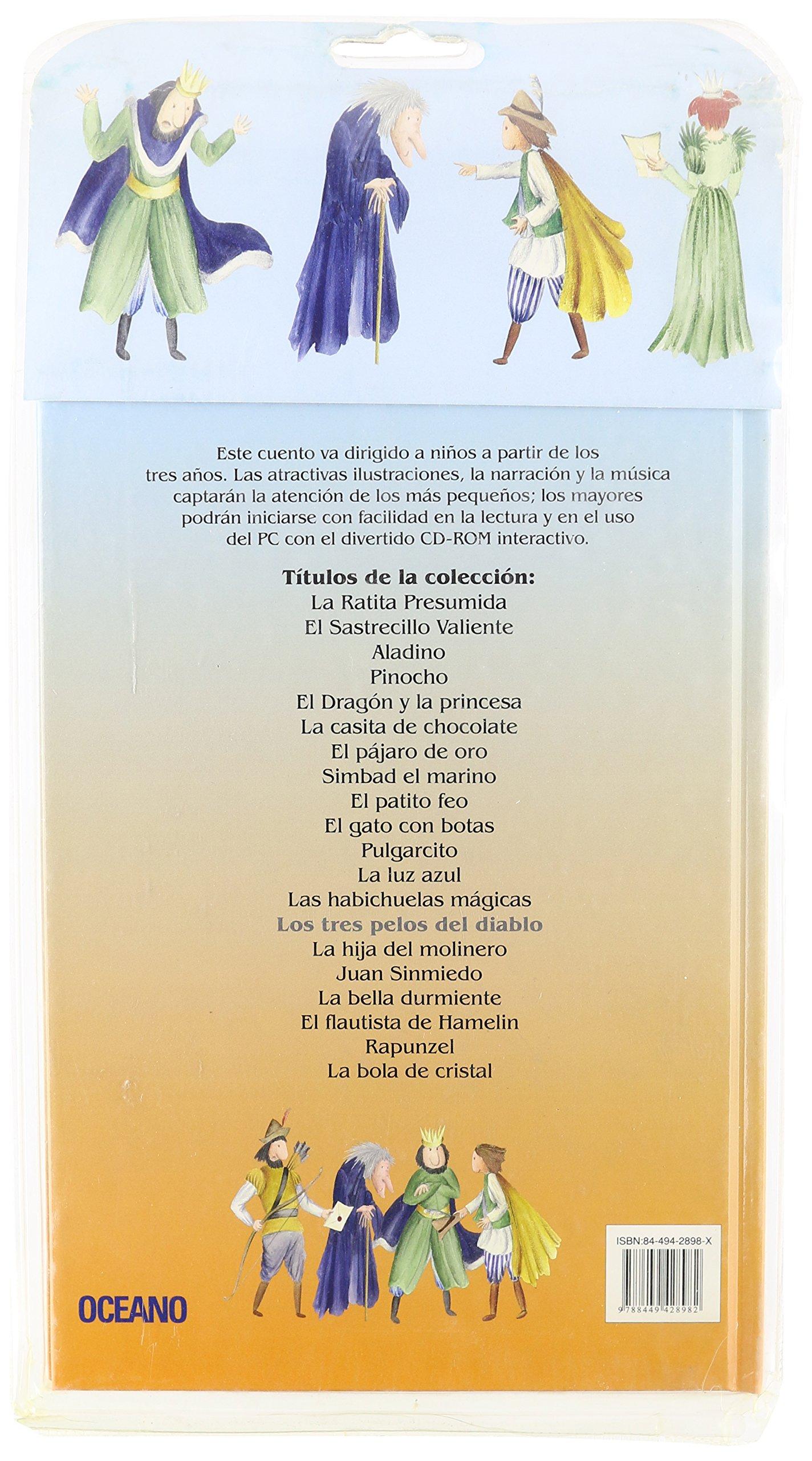 Los Tres Pelos Del Diablo (Cuentos interactivos) (Spanish Edition): Wilhelm Grimm, Miguel Jimenez Hernandez, Jacob Grimm: 9788449428982: Amazon.com: Books