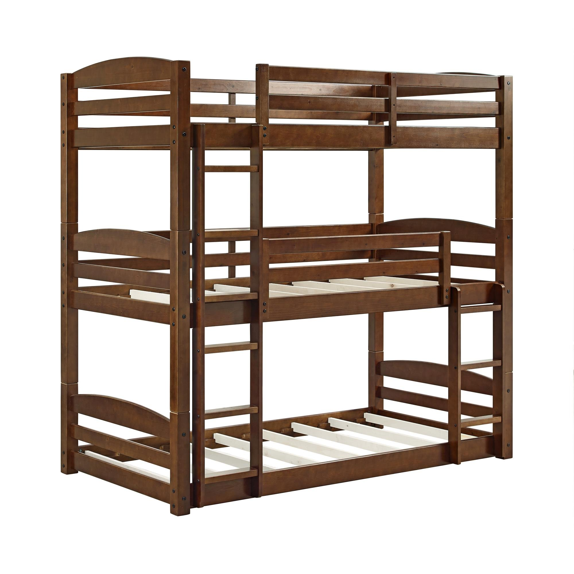Heavy Duty Triple Bunk Bed Durable Sturdy Convertible To Daybed 3  # Muebles Covertibles