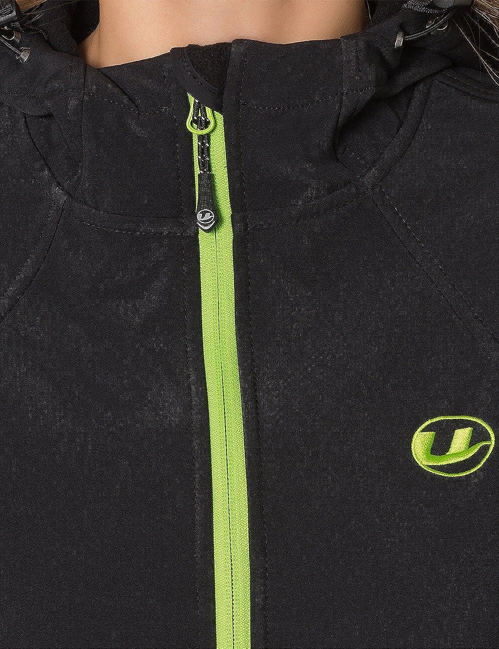 Ultrasport Damen-Funktions-Outdoorjacke Softshell Estelle mit Ultraflow 5.000