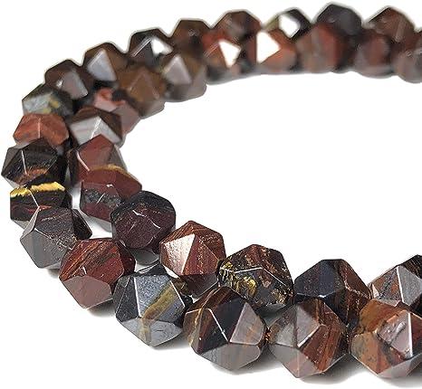 "Iron Round Beads 15/"" Strand Oz Seller 6mm Natural Red Tiger Eye"