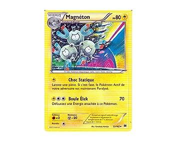 Tarjeta Pokémon 53/162 Magneton – Serie XY impulson Turbo XY8 de la unidad –