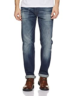 4de68805 Levi's Men's (502) Regular Tapered Fit Jeans (56721-0000_Blue_40 ...