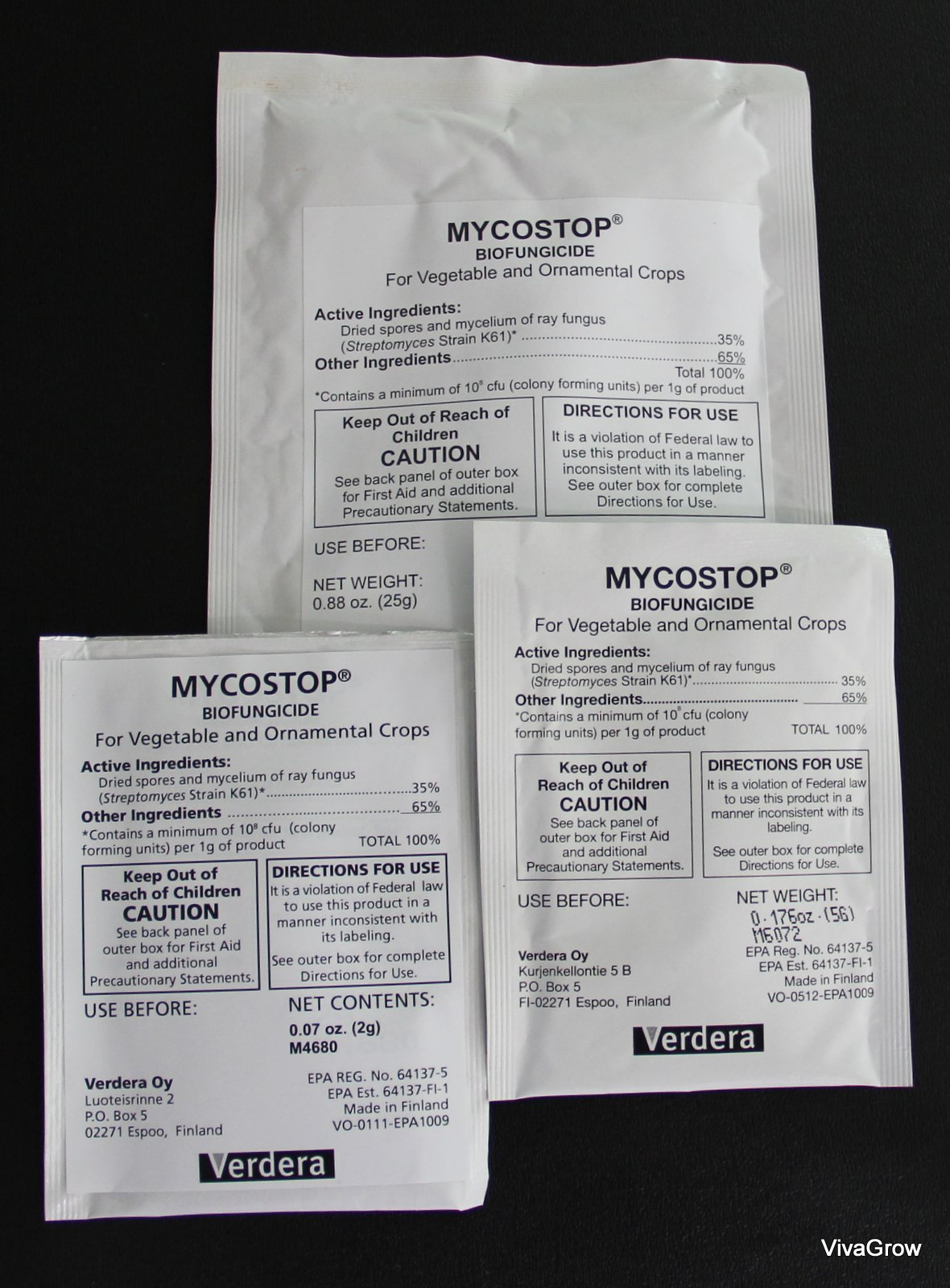 Mycostop Biofungicide GROWER PACK 100 Gram