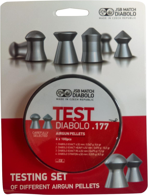 JSB Diabolo Exact 177 Test Pellets