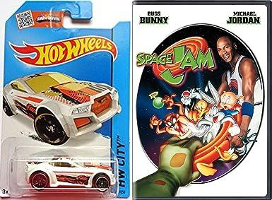 d603385bec8432 Amazon.com  SPACE JAM DVD Movie   Hot Wheels Basketball Car Set ...