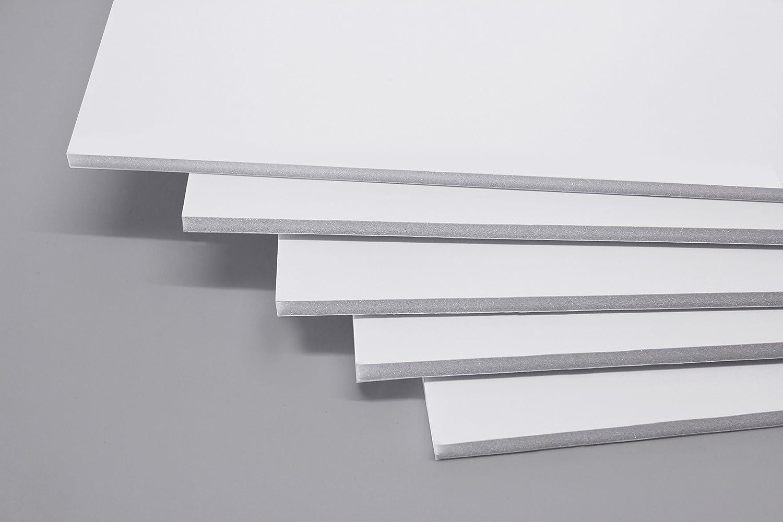 Cathedral - Tavola in schiuma formato A2, confezione da 20, colore: Bianco FBWHTA220