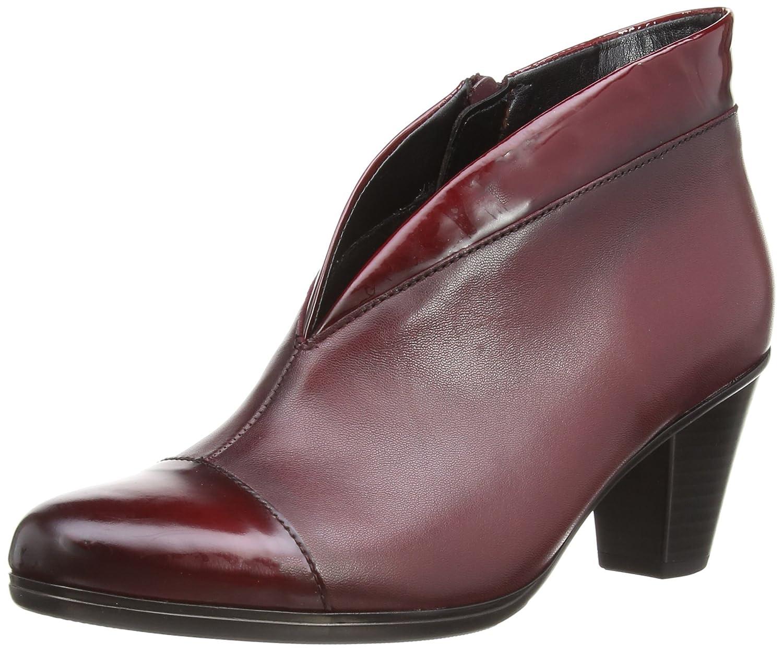 Gabor Femme Enfield, Bottes Classiques Femme Rouge Leather/Patent (Dark Red Classiques Leather/Patent Trim) 4194020 - deadsea.space