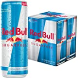 Red Bull Sugarfree, Energy Drink, 12 Fl Oz Cans, 4 Pack