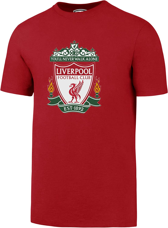 Large Logo OTS English Premiership Liverpool Mens Rival Tee