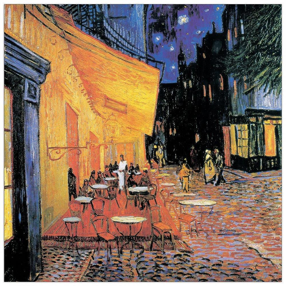 Artopweb Pannello Decorativo Van Gogh Il Caf/é Multicolore Taglia Unica