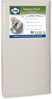 product image for Sealy Soybean Plush Infant/Toddler Crib Mattress