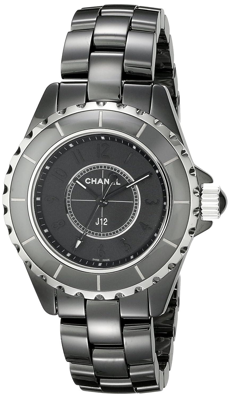 Chanel H3828 Negro Reloj de la Mujer: Amazon.es: Relojes