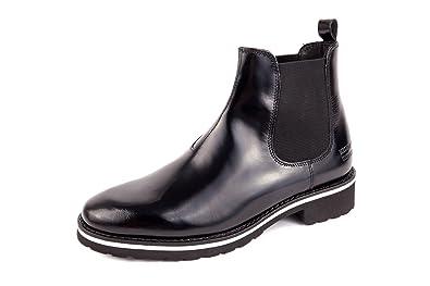 new styles 01d7c 3170e Melvin & Hamilton Womens Esther 6 Lack Chelsea Boots Black ...