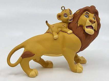 1994 Mufasa And Simba The Lion King Hallmark Christmas Ornament